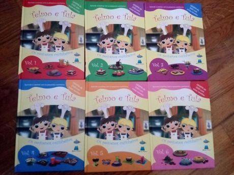 Colecção Pequenos Cozinheiros - 6 volumes Criança