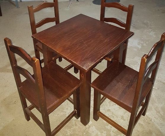 Conjunto mesa restauração/ bar