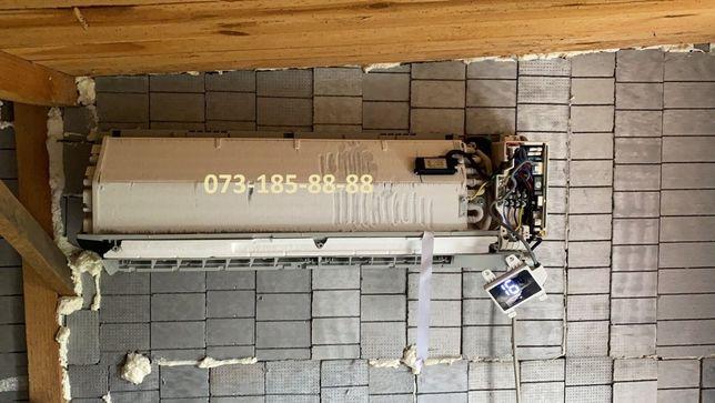 Заправка ремонт кондиционера,холодильника,сервис,профилактика,пайка,ТО