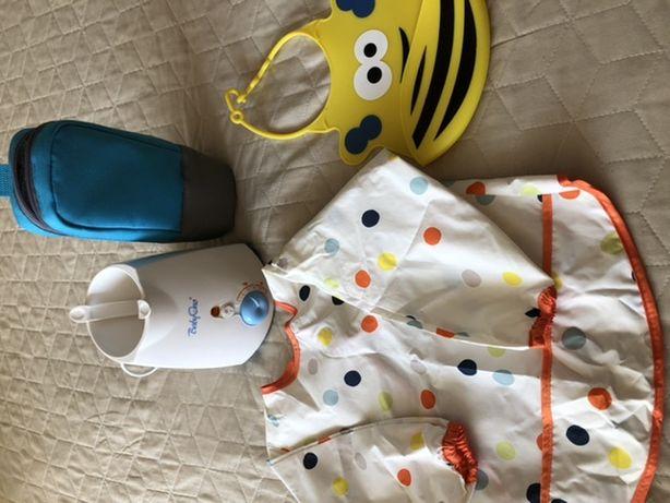 Podgrzewacz dla dziecka BabyOno + pokrowiec termiczny +sliniaki