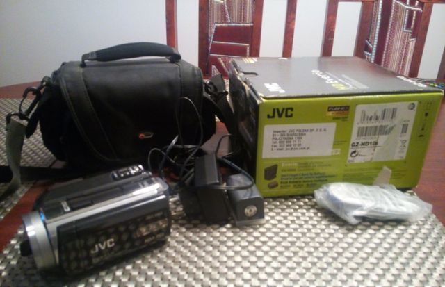 Kamera JVC FULL HD Everio GZ - HD10e