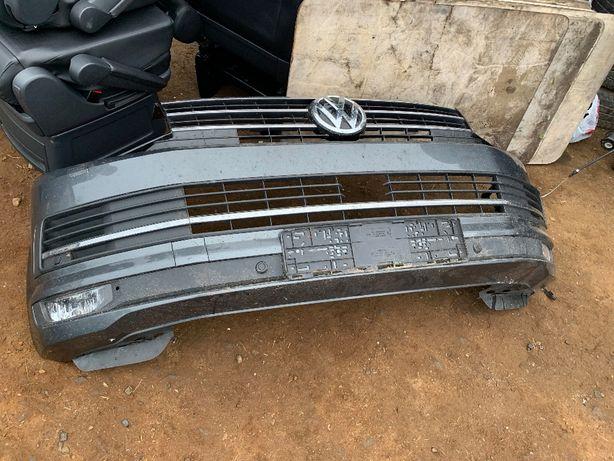 Бампер передний Volkswagen Multivan VW T6 Фольксваген Мультиван Т6 Т5