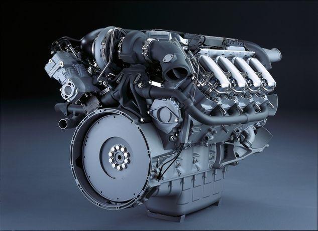 Silnik Scania 124 420 PDE - stan BDB