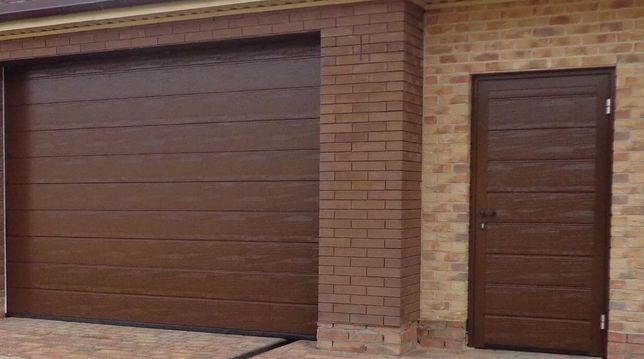 Ворота гаражные секционные, ролеты, ковка, металлоконструкции