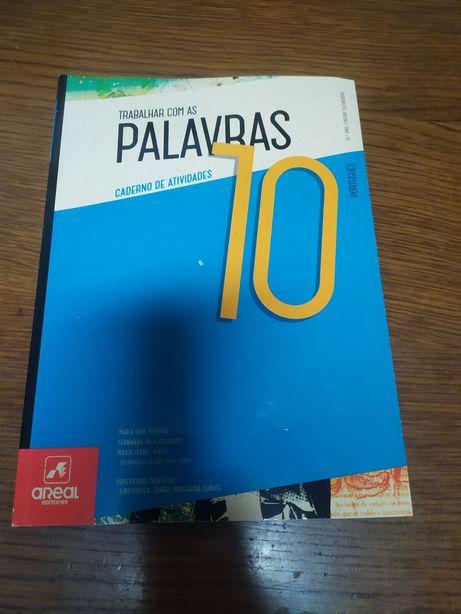 Palavras 10 caderno de atividades português 10 ano novo