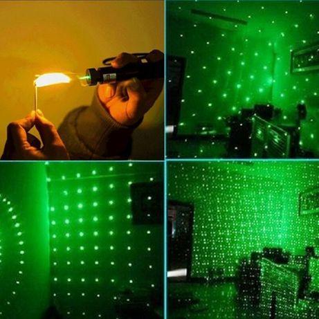 Мощная Лазерная указка Green Laser 303