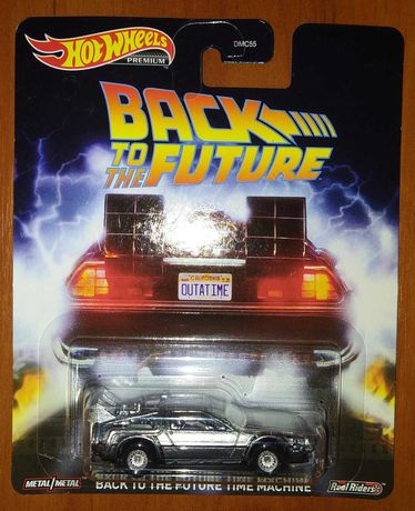 "Hot Wheels - Back To The Future ""Time Machine"" (Назад в будущее) новая"