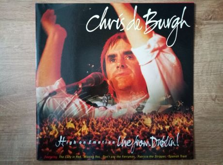 Chris De Burgh high on emotion live from Dublin 2 x lp.