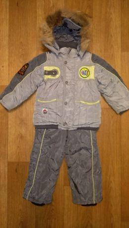 Комбинезон раздельный зима куртка штаны Wewins