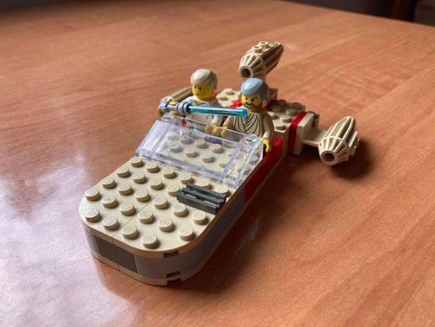 Lego Star Wars 7110 pustynny ścigacz landspeeder klocki lata 90