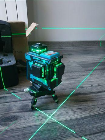 Nowy samopoziomujący laser krzyżowy HILDA 3d 12 linii poziomnica