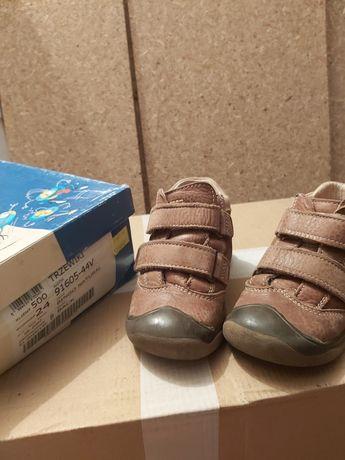 Trzewiki Bartek 24 chłopięce wiosenne buty przejściowe skóra naturalna