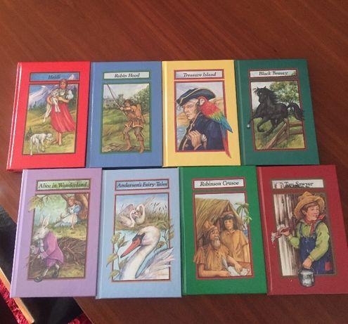 NOVOS-Livros de histórias clássicas infantis em Inglês