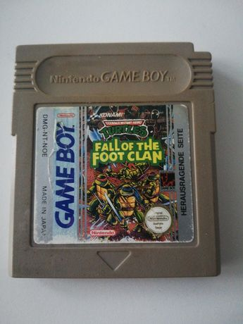 Sprzedam grę game boy Fall of the foot clan