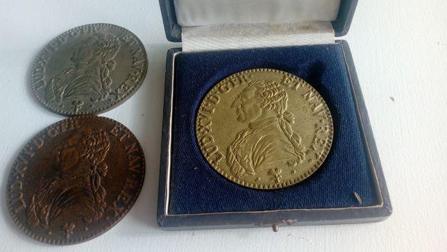 Moeda ou Medalha LUD XVI