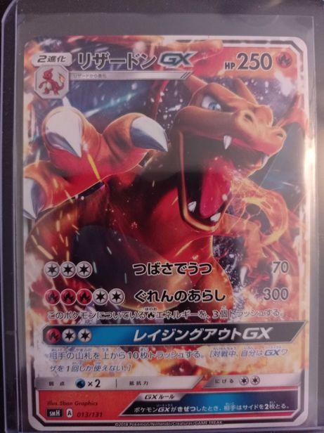 Cartas Pokémon Charizard japonesas