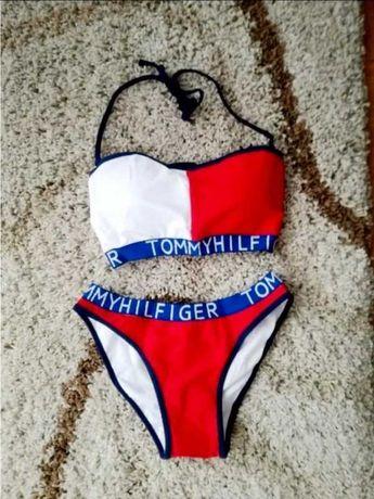 kostium kąpielowy bikini strój kąpielowy tommy hilfiger th