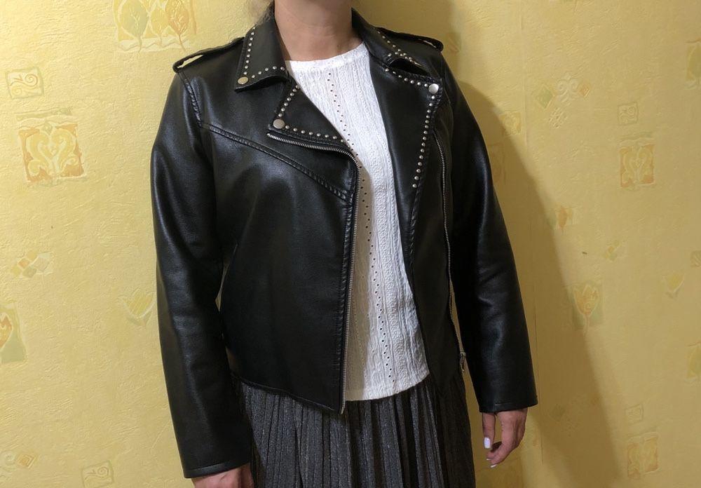 Кожаная куртка женская Киев - изображение 1