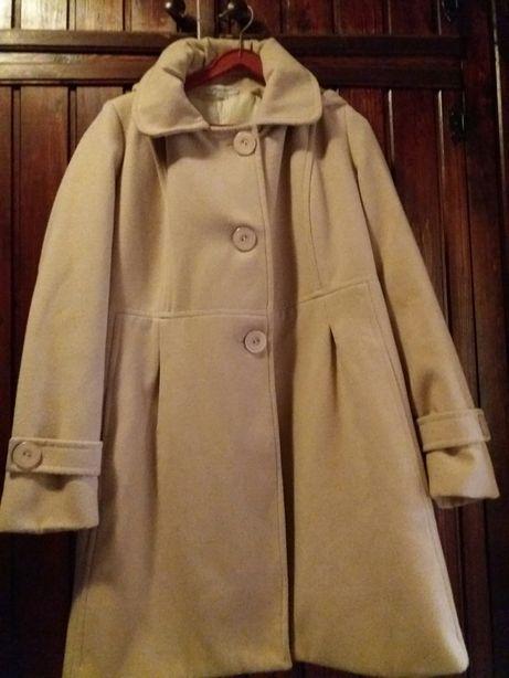 Beżowy płaszczyk- kurtka M/L