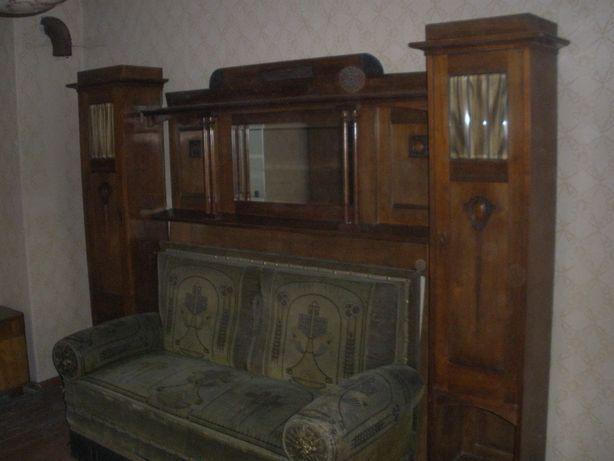 Sofa meble z lustrem (Antykowe) 2000zł.