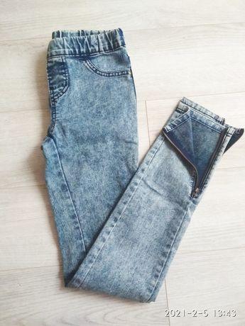 Spodnie damskie jeansy xs