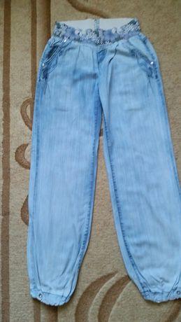 Летние брюки пояс резинка разм.42-44