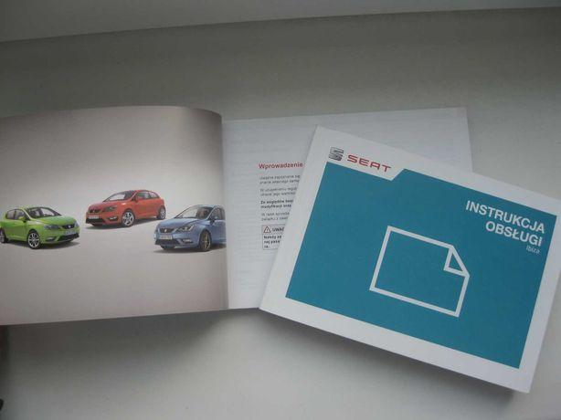 SEAT IBIZA IV FL instrukcja obsługi Seat Ibiza 6J 12-17 PL