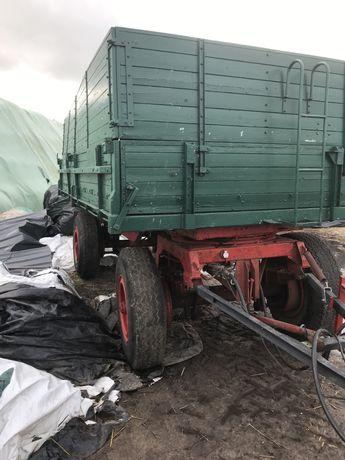 Przyczepa  trzy stronny wywrot Dmc 16 ton