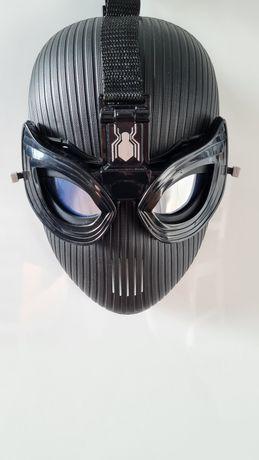 Maska spiderman czarna hasbro