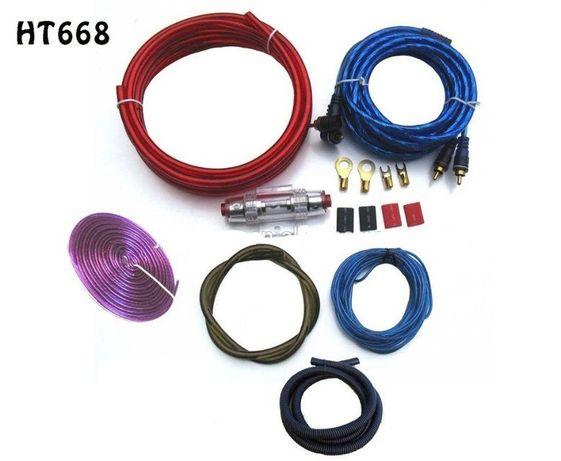 Набор проводов, кабель для усилителя / сабвуфера Harmtesam HT-668 6GA