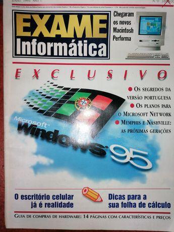 Revistas/CDs Exame Informática (incluí no. 0)