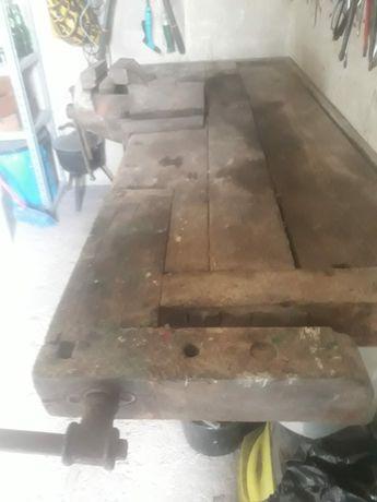 Stół stolarski używany.