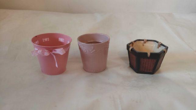 Donice donica doniczki doniczka osłonka ceramiczna kubek wazonik-tanio
