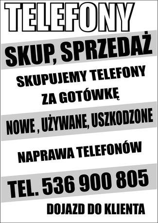 SKUP Sprzedaż Naprawa Telefonów Używanych i Nowych