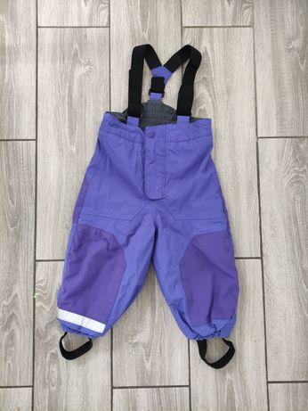 H&M zimowe spodnie rozmiar 92