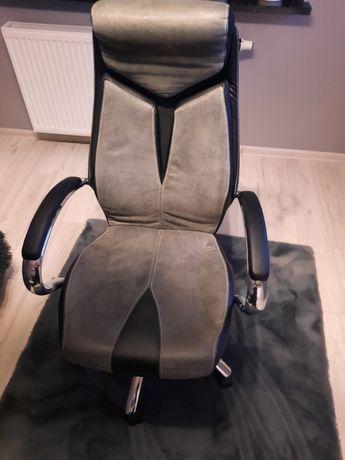 Krzesło biurowe szare