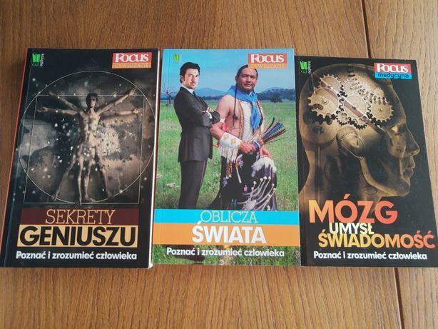 Focus zestaw trzech książek