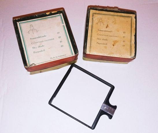 Немецкий набор светофильтров для фотоаппарата Contax D