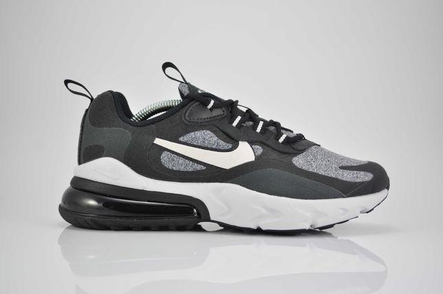 """Nike Air Max 270 React """"Black/Vast Grey"""" 38,5 39 nowe sklep PURRFECT"""