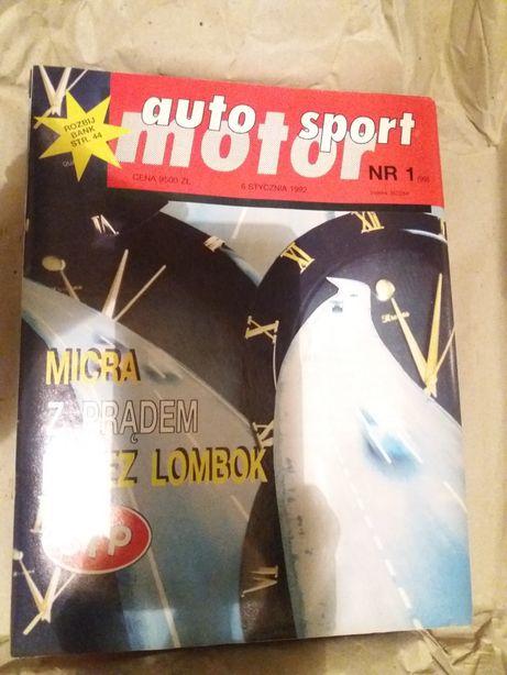 Gazety - Auto Motor Sport 1991 , 1992 , 1993 - czasopisma tygodnik