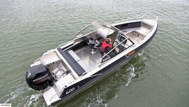 Алюминиевый катер, лодка UMS, TUNA 655DC