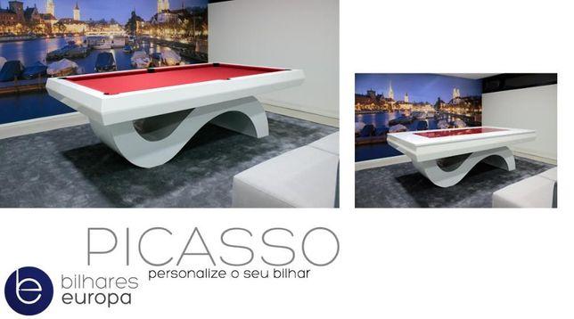 Bilhares Europa Fabricante NOVO Picasso OFERTA Tampo de jantar