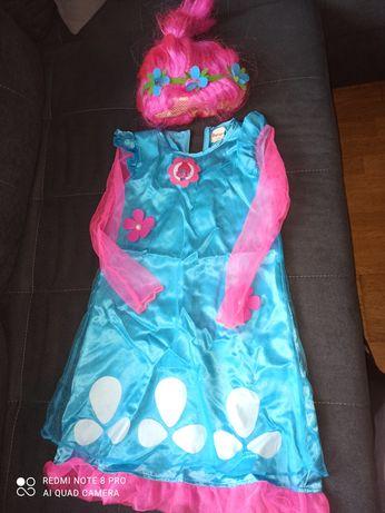 Trolle Poppy sukienka kostium