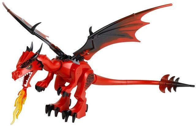 Lego castle замок дракон