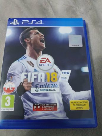 FIFA 2018 ps4 stan idealny gra