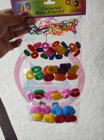 Резиночки для принцес кольорові резинки для волосся