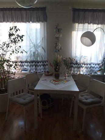 Stół Biały razem z Krzesłami
