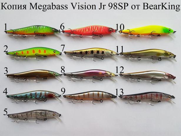 Воблер Megabass Vision 110SP 98SP Oneten +1 110SP от BearKing