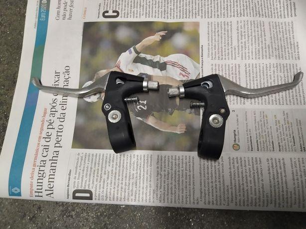 Manetes de travão em alumínio para bicicleta montanha ou bmx