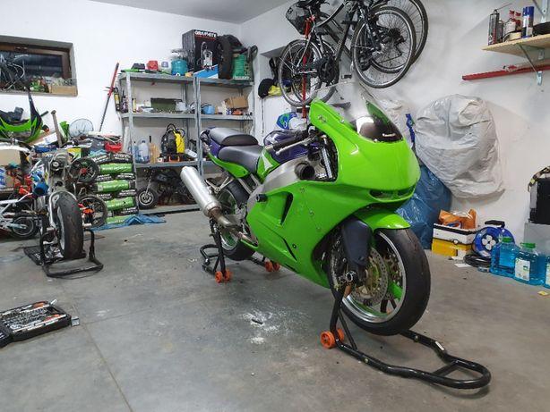 Kawasaki ZX6R Tor/droga